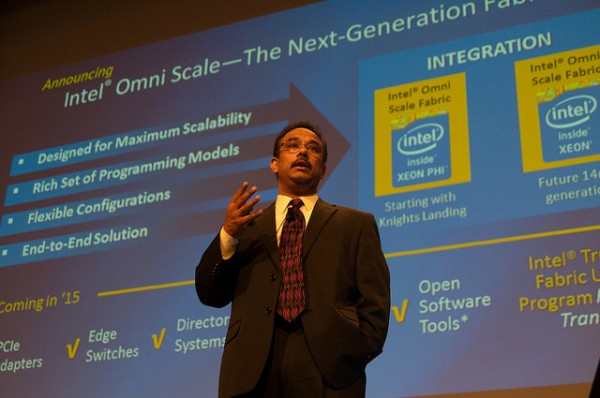 Rajeeb Hazra from Intel delivers his special talk at ISC'14. Photo by: Tim Krieger, ISC Events.